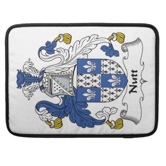 Nutt Family Crest Sleeve For MacBooks