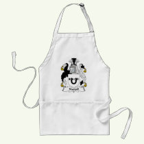 Nuttall Family Crest Apron