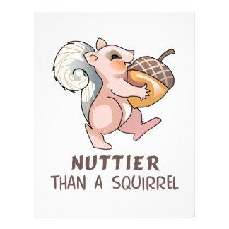 Nuttier than Squirrel Custom Letterhead