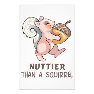 Nuttier than Squirrel Stationery