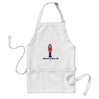 Nuttiest of them all adult apron