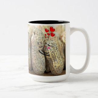 Nutty Couple Two-Tone Coffee Mug