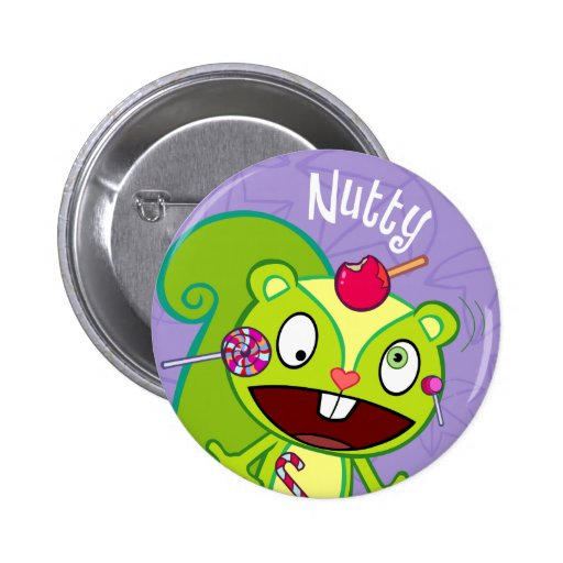 Nutty Cute Button