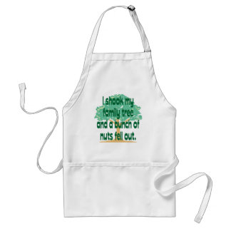Nutty Family Adult Apron