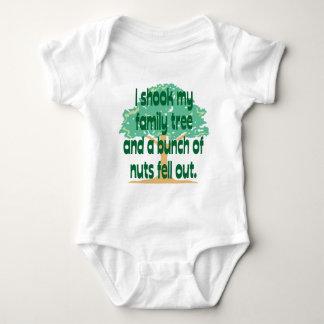 Nutty Family Baby Bodysuit