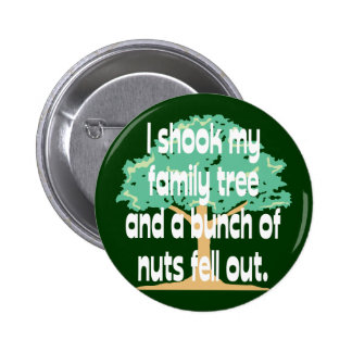 Nutty Family 2 Inch Round Button