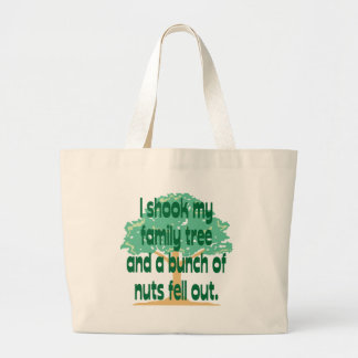 Nutty Family Large Tote Bag