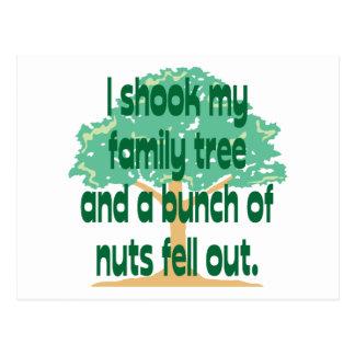 Nutty Family Postcard
