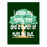 Nutty Family Postcard