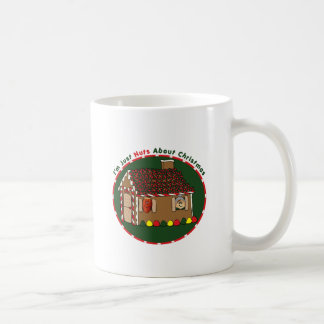 Nutty Gingerbread House Classic White Coffee Mug