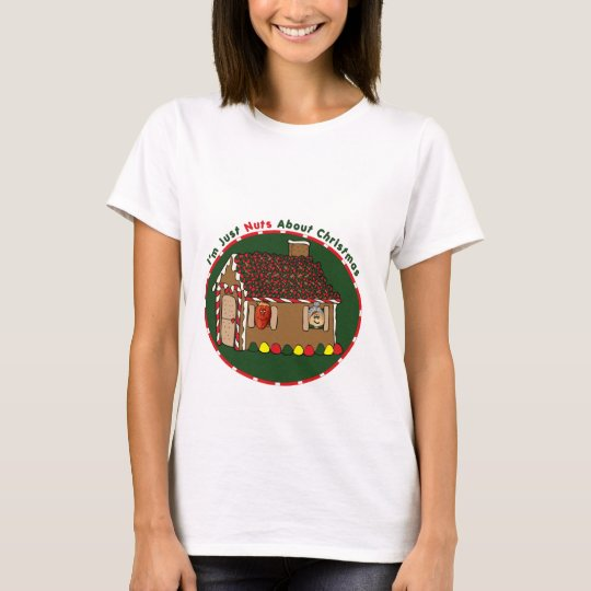 Nutty Gingerbread House T-Shirt