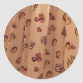 Nutty Material Classic Round Sticker
