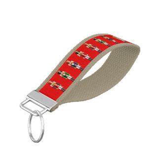 Nutty Nutcrackers Army Wrist Keychain