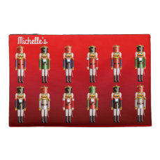 Nutty Nutcrackers Christmas Ballet Themed Travel Accessory Bag