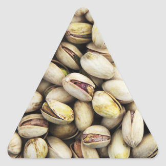 Nutty Pistachio Pile Triangle Sticker