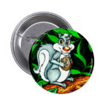 Nutty Squirrel Buttons