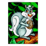 Nutty Squirrel Greeting Cards