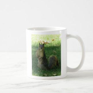 Nutty Squirrel Classic White Coffee Mug