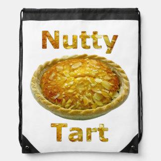 Nutty Tart Drawstring Bag