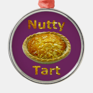 Nutty Tart Metal Ornament