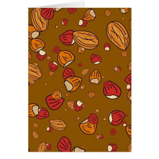 Nutty Wallpaper Card
