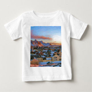Nuuk City Greenland by Ozborne Whilliansson Baby T-Shirt