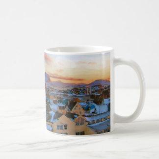 Nuuk City Greenland by Ozborne Whilliansson Coffee Mug