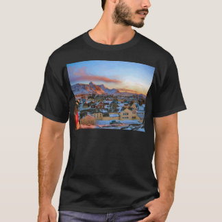 Nuuk City Greenland by Ozborne Whilliansson T-Shirt