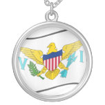 Nuvola Us Virgin Islands, United States Personalized Necklace