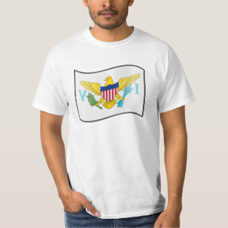 Nuvola Us Virgin Islands, United States T-Shirt
