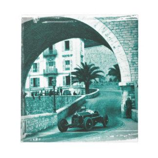 Nuvolari RK the 1932 Monaco Monaco Prix Notepad
