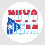 Nuyorican Classic Round Sticker