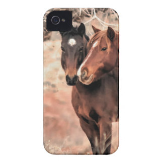Nuzzling Horses Case-Mate iPhone 4 Case