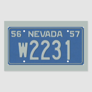 NV57 RECTANGULAR PEGATINAS