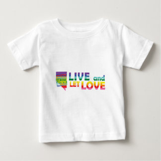 NV Live Let Love Baby T-Shirt