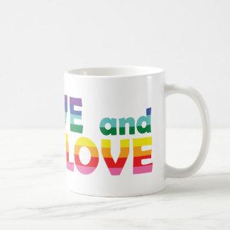 NV Live Let Love Coffee Mug