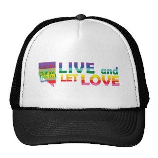 NV Live Let Love Trucker Hat