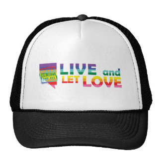 NV Live Let Love Trucker Hats