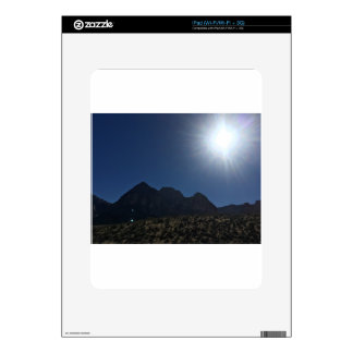 Nv mountain range decal for the iPad