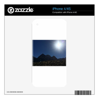 Nv mountain range decal for the iPhone 4