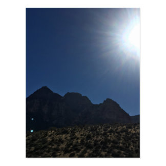 Nv mountain range postcard