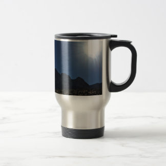 Nv mountain range travel mug