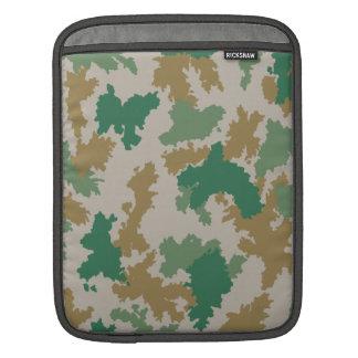 NVA surface-camouflage (mark-camouflage/flower-cam Sleeve For iPads