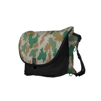 NVA surface-camouflage (mark-camouflage/flower-cam Messenger Bag