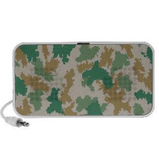 NVA surface-camouflage (mark-camouflage/flower-cam Laptop Speaker