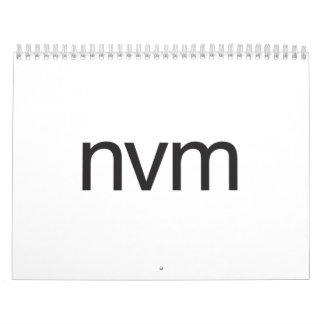 nvm calendars
