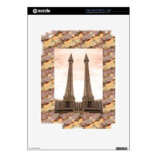 NVN10 NavinJOSHI Landmarks EFFEL Tower Las Vegas Skin For The iPad 2
