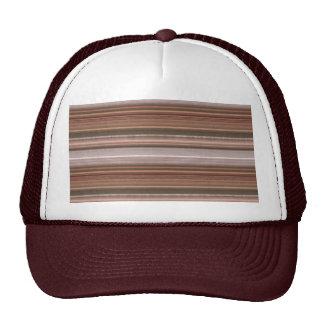 NVN15  JoshiNAVIN Brown Sparkle Graphic Pattern Mesh Hats
