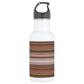 NVN15  JoshiNAVIN Brown Sparkle Graphic Pattern Water Bottle