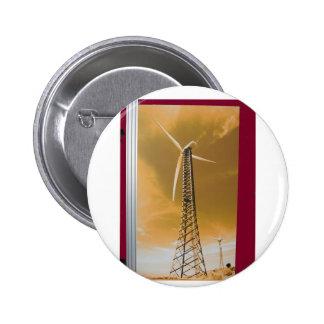 NVN16 NavinJOSHI Natural CLEAN Wind Energy GIFTS Pin